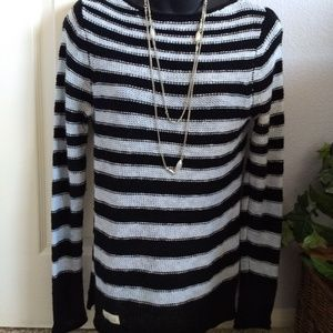 LRL Lauren Jeans Co. Striped Sweater Size XS
